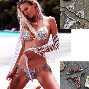 DHgate leopard triangle bag split swimsuit bikini explosion high waist bikini designer women s bikini fashion swimwear 2019 sale