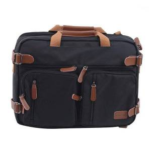 DHgate 15 inch convertible briefcase men business handbag messenger bag casual lapmultifunctional travel bags for male big1