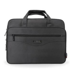 "DHgate men briefcase lapbags good nylon cloth multifunction waterproof 15.6"" handbags business shoulder men's office bags"