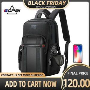 DHgate bopai backpack men usb anti theft business backpack for 15.6inch lapblack back pack school breathable back