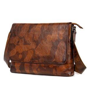 DHgate 2020 100% crazy horse genuine leather folders for document totes messenger bag men's business shoulder bags lapcase 15f6