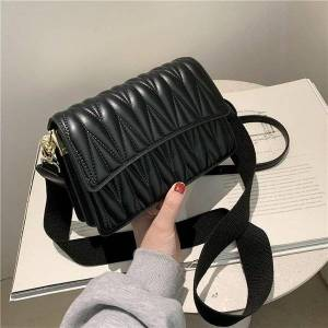 DHgate threads women's shoulder bag 2 belts 2021 spring fashion female hand bags sac femme fashion shoulder crossbody bags