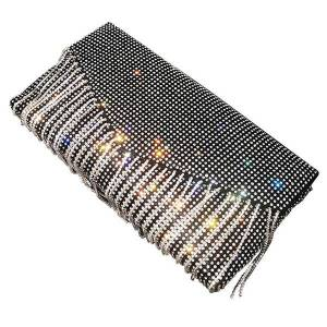 DHgate luxury night's of women's exquisite party bling money clutch silver strass bag torebka damska bags ae50eb edac