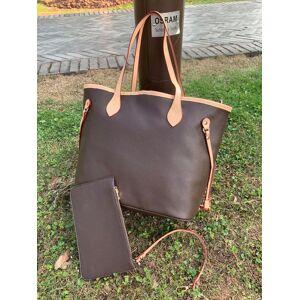 DHgate 4 colors lattice 2pcs set totes women handbag ladies shoulder bags handbag lady clutch totes shoulder bags #8158