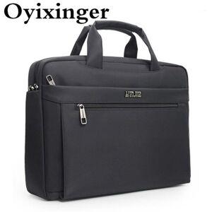 DHgate oyixinger men's bags briefcase for 15.6 inch lapoxford handbag for a4 organizer document large capacity bag men's shoulder1