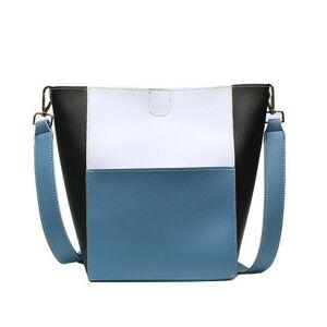 DHgate fashion 2pcs shoulder bags for women 2021 new lady crossbody bags leather messenger bag female designer women's bag