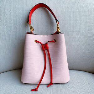 DHgate 75% off luxury handbag 2021 new leather ripple bucket matching portable shoulder bag fashion messenger bag women's fashion z9u2