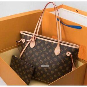 DHgate 4 colors lattice 2pcs set totes women handbag handbag ladies shoulder bags handbag lady clutch purse retro shoulder bags 68
