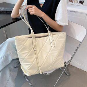 DHgate evening bags lingge female bag soft large-capacity shoulder leather shopping simple handbag 2021 summer tote