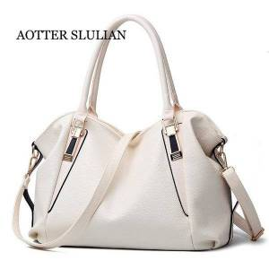 DHgate evening bags designer women white handbag female shoulder bag leather large tote hobo soft lady crossbody messenger sac
