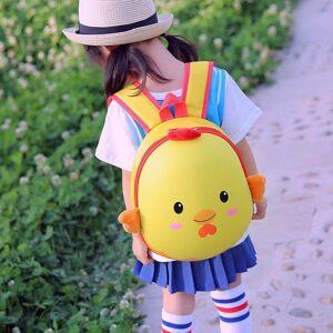 DHgate kindergarten boys and girls cute cartoon hard shell schoolbag 2-5 years old children's double shoulder eggshell backpack school bags