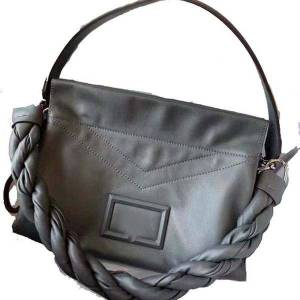 DHgate 75% off luxury handbag leather women's versatile fashion super soft large capacity calf shoulder underarm locomotive bag 2cz8