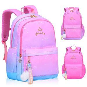 DHgate school bags girl backpack for backpacks girls nylon orthopedic children primary schoolbags grade 1-6 kids mochila