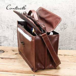 DHgate briefcases contact's casual men lapbag for 15.6 x0v4