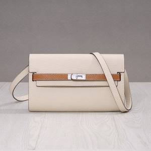 DHgate 75% off luxury handbag palm pattern new small women's 22cm long leather one shoulder slanting mobile bag wallet 4z7x