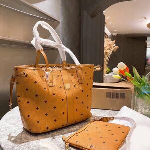 DHgate classic oversize tote bag handbags luxury designer pink sugao women shoulder letter print leather lady purse large hand bags 2pcs/set many s