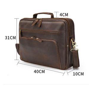 DHgate briefcases luufan men business briefcase genuine leather 15.6 u9cq