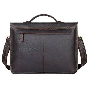 DHgate briefcases luxury men handbag real leather antique style business 15.6 w1zr