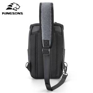 DHgate kingsons 2021 style fatshion tablet chest bag large capacity waterproof travel cross body for teenagers