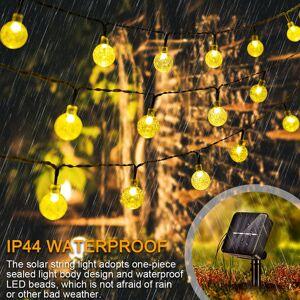 DHgate 2021 new luzes da corda bola cristal natal ao ar livre luz solar de fadas prova d' gua para o jardim e casa paisagem decoraes do tqbv