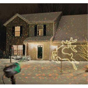 DHgate effects christmas outdoor laser projector sky star spotlight showers landscape dj disco lights r&g garden lawn party