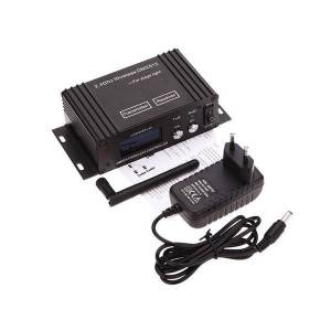 DHgate effects mini 2.4g wireless dmx 512 controller transmitter receiver lcd display disco light