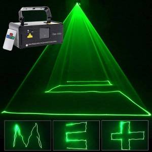DHgate effects sharelife mini pure green color dmx laser scan light pro dj home party gig beam effect stage lighting remote auto music dm-g50
