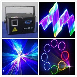 DHgate ilda dmx 1.2w 2d/3d rgb colorful laser disco lighting purple animation light party show
