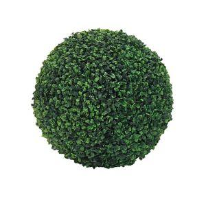 DHgate sfera bosso artificiale sintetica foglie verdi finto palla 40 cm fake trees pots plants balcony garden wedding 2021 decorative flowers & wre