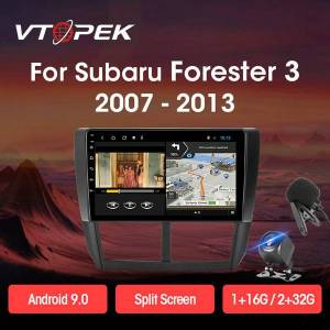DHgate vk android 9.0 car radio multimidia video player navigation gps autoradio for forester 3 sh 2008-2012 head unit 2din car dvd