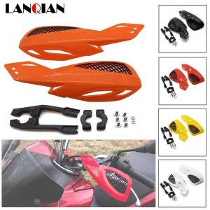 DHgate motorcycle handlebar hand guard protection 7/8'22mm hand guard for 65 85 125 200 250 350 450 500 525 530 sx xc exc exc r f w