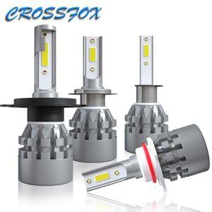 DHgate h7 led light lampada led h4 light bulb h1 h8 h9 h11 9005 9006 auto front lights auto headlights car styling lampscob chip 6000k