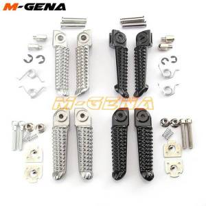 DHgate motorcycle front rear footrests foot pegs for yzf1000 yzf 1000 r1 yzf600 yzf 600 r6 r3 r15 r25