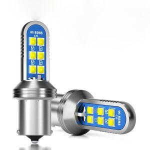 DHgate 1ps super bright 1156 ba15s p21w led py21w bau15s leds bulb canbus error auto lamp car rear turn signal light white 6000k