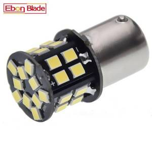 DHgate 1pcs 6v-30v dc 1156 ba15s p21w 1157 bay15d led signal lamp for car motor tail backup brake reverse turn signal light bulb white