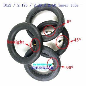 DHgate 10x2 /2.125 /2.25 /2.50 butyl rubber inner tube for tricycle bike schwinn kids 3 wheel stroller scooter balancing hoverboard1