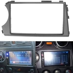 DHgate 2 din car stereo radio cd panel facia frame trim for ssang yong actyon lhd