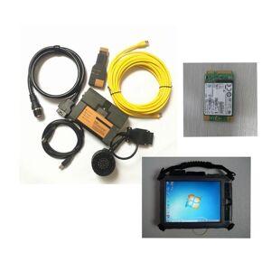 DHgate 2021.03 car tool diagnostic for b-mw lcom a2 b c obd2 cable software 480gb ssd expert mode multi-languages ix104 tablet tools