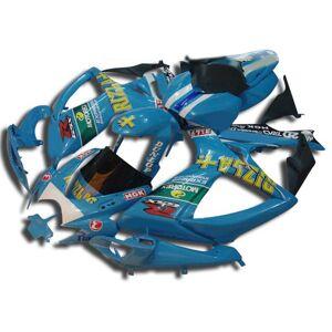 DHgate motorcycle fairing body kit for suzuki gsxr600 750 2006 2007 gsxr 600 gsxr 750 k6 06 07 abs blue fairings set mn14