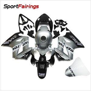 DHgate motorcycle fairing kit for honda vfr800 2002 2003 2004 2005 2006 2012 vfr 800 02 03 04 05 06 08 09 abs silver black fairings set+3gifts vb