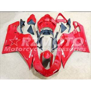 DHgate injection abs plastic fairings for ducati 1098 848 1198 year 2007 2008 2009 2010 2011 2012 motorcycle red t5