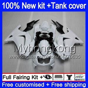 DHgate +tank for kawasaki ex-250 zx250r 2008 2009 2010 2011 2012 201my.43 ex250 zx 250r ex 250 zx-250r ex250r 08 09 10 11 12 fairing white black