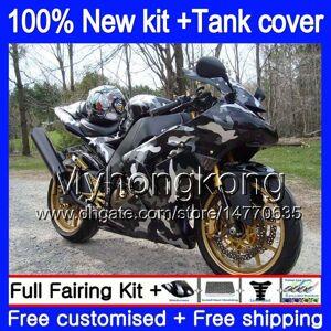 DHgate body +tank for kawasaki zx1000 cc zx 10 r zx-10r 2004 2005 214my.0 zx10r 04 05 zx1000c 1000cc zx 10r 04 05 abs fairings kit camouflage grey