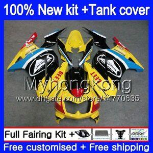 DHgate +tank for kawasaki zx-250r ex-250 zx250r 08 09 10 11 12 201my.57 yellow black ex250 zx 250r ex 250 ex250r 2008 2009 2010 2011 2012 fairings