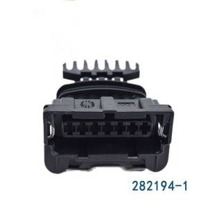 DHgate 5/10/20/50/100pcs/lot amp/tyco 7 pin 7 way female junior power timer jpt connector plug with terminals cable seals 282194-1 car