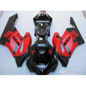 DHgate 100% original mold fairings for honda cbr1000rr 04 05 red black fairing kit cbr 1000 rr 2004 2005 ee29