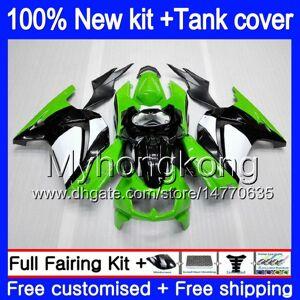 DHgate +tank for kawasaki zx-250r ex-250 zx250r 08 09 10 11 12 sale green 201my.12 ex250 zx 250r ex 250 ex250r 2008 2009 2010 2011 2012 fairings