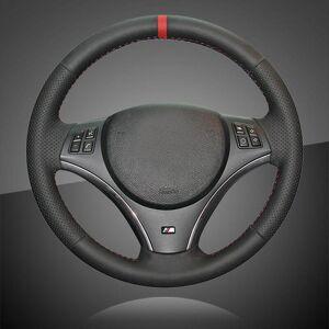 DHgate auto braid on the steering wheel cover for bmw e90 325i 330i 335i e87 120i