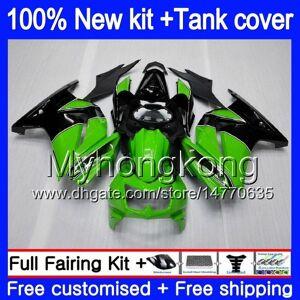 DHgate +tank for kawasaki zx-250r ex-250 zx250r 08 09 10 11 12 stock green 201my.5 ex250 zx 250r ex 250 ex250r 2008 2009 2010 2011 2012 fairings
