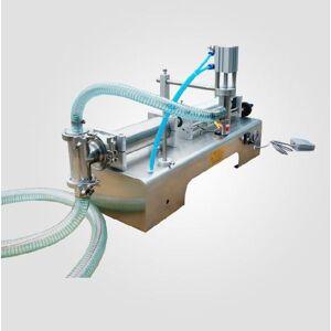DHgate 1pc 50-500ml semi automatic pneumatic liquid filling machine filling shampoo perfume ss304 beverage packer 110/220v